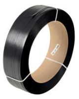 AP40050-12BLK66 BLACK EMBOSSED STRAP