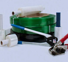 Strapping, Stretch Film, Shrink Film, & Supplies